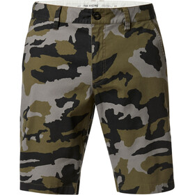 Fox Essex Camo 2.0 Chino Shorts Men, green camo